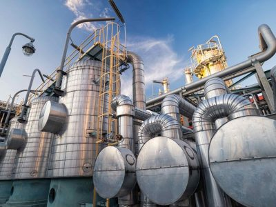 Gas storage facilities